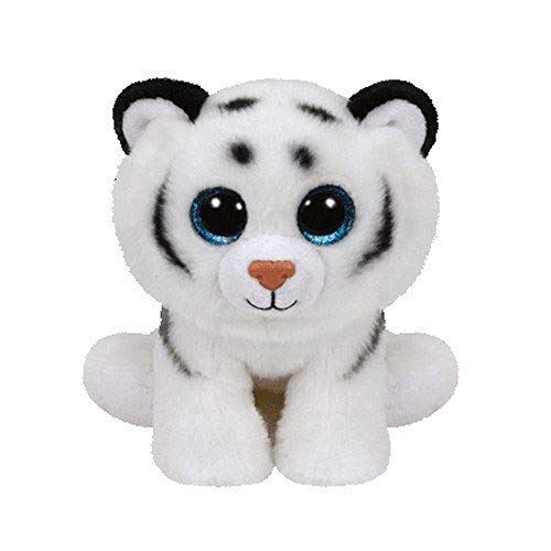 Tundra the White Tiger Beanie Boo