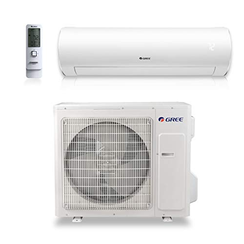 GREE 24,000 BTU 21.5 SEER Sapphire Wall Mount Ductless Mini Split Air Conditioner Heat Pump 208/230V