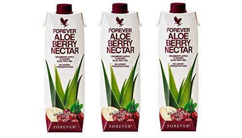 Forever Living Aloe Berry Nectar 1 litro 3 flaconi