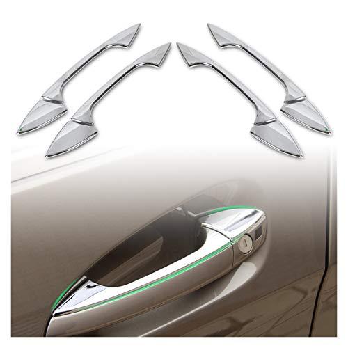 XIAOZHOU ZHOUBENXIANG Cubierta de la manija de la Puerta de Cromo Fit para Mercedes Benz B C E GLK ML CLA Clase W246 W166 W117 W204 W212 x204