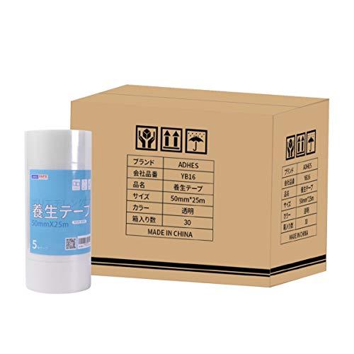 【Amazon 限定ブランド】ADHES 養生テープ 透明 YC16_TM