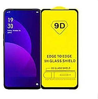 شاشة حماية زجاج 9 دي بتغطية وحماية كاملة لهاتف اوبو رينو 2اف - اسود