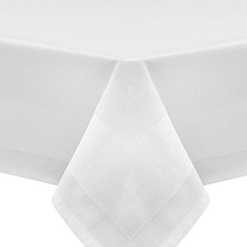 Fleuresse Tischdecke, weiß, 130 x 280 cm