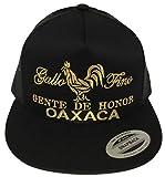 gallo fino Gente de Honor De Oaxaca hat Black mesh
