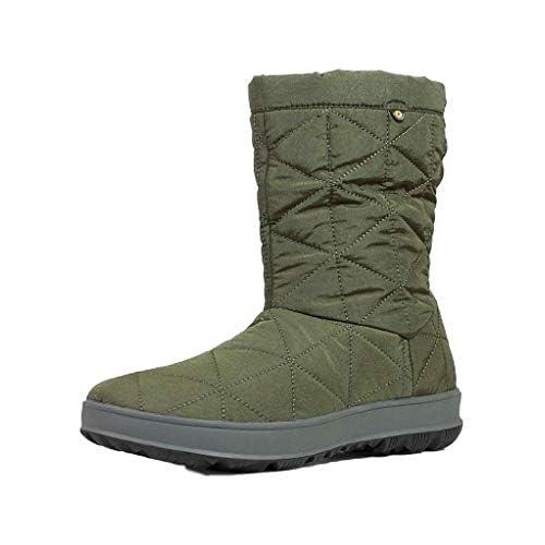 BOGS Snowday - Stivali Invernali da Donna, Nero (Verde Scuro), 39 EU