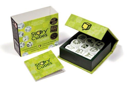 Zygomatic- Story Cubes, Viajes juego de dados, Multicolor (The Creativitiv Hub STO02ES)