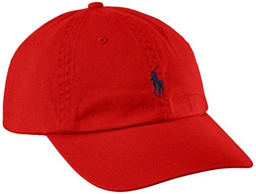 Casquette Ralph Lauren rouge pour homme