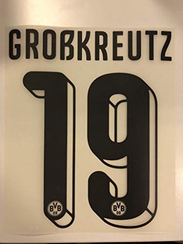 Flock Original BVB Borussia Dortmund Trikot 25cm - GROßKREUTZ 19