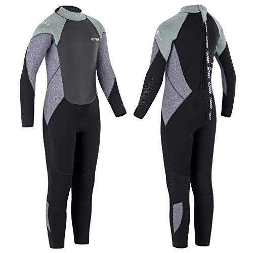 Osprey heren Zero 5mm winter Full Length wetsuit
