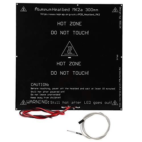 Tonysa 3D-printer verwarmingsplaat met dubbelzijdige aluminium PCB-verwarmingsplaat voor 3D-printer / MK2B 300 * 300 mm