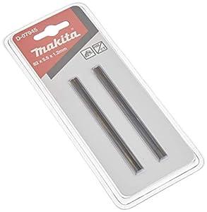Makita D-07945 cuchilla para cepilladora 82 mm 2 pieza(s) - Cuchillas para cepilladoras (82 mm, Carburo de tungsteno, De plástico, Madera, 1901 / 1902 / 1923H / KP0810 / BKP180 / DKP180 / DKP180ZJ / KP0800 / MT191 / KP0810C / 1100, 2 pieza(s))