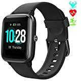 Jogfit Smartwatch Contapassi Orologio Fitness Tracker Donna Uomo, Smart Watch GPS Impermeabile IP68 Cardiofrequenzimetro da Polso,...