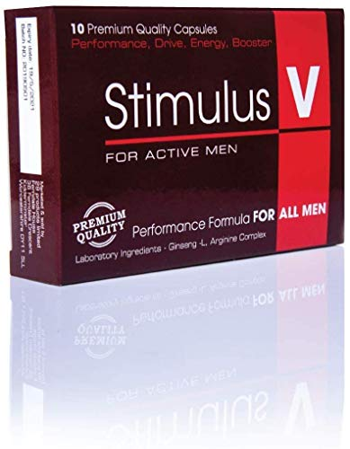 New Innovative Performance for Active Men from The Experts – Stimulus V ! Male Food Supplement for Increased Energy to Make You Exceed Expectations! (10)