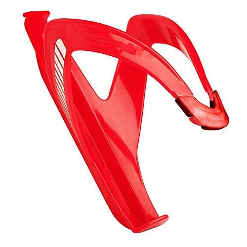 Z.L.F.J.P Accesorios para Bicicletas Titular de la Botella BTT Montaña Universal for Bicicleta Ciclismo Copa Agua Soporte Estante de la Bici Jaula Accesorios de la Bicicleta (Color : Rojo)