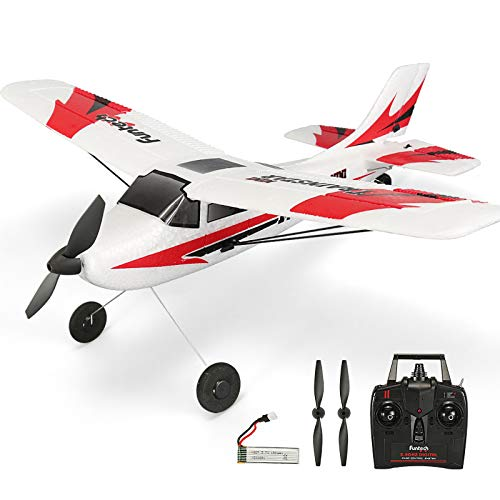 RC Plane Remote Control Airplane 3 Channel with 2.4Ghz Radio Control 6 Axis Gyro, Durable EPP Foam, Easy & Ready to Fly for Beginners,Great Little Plane for Kids and Adults