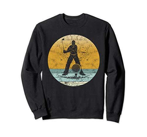 Retro Golf Vintage Style Sport Golfer Gift for Men & Women Sweatshirt