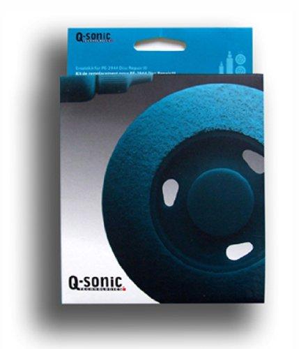 Q-Sonic Zubehör zu CD Reinigung: Reinigungsset für Q-Sonic CD/DVD-Reparaturset Pro III PE2944 (CD Schleifer)