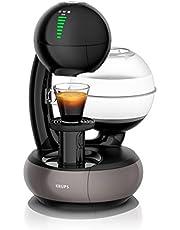 Krups Kp3108 Nescafé Dolce Gusto Esperta Koffiecupmachine, 1500 Watt, Capaciteit Waterreservoir: 1,4 L, Pompdruk: 15 Bar, Zwart/Titanium-Grijs