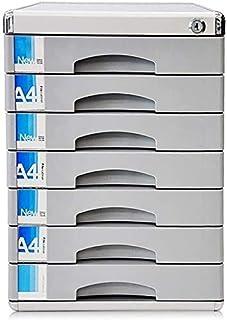 تنظيم المكتب والتخزين، درج درج درج درج درج صغير أبيض ملصق تخزين مختلف ، اللون: رمادي (اللون: رمادي)