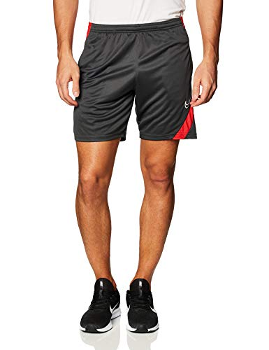 Nike Dri-Fit Academy Short für Herren S Mehrfarbig (Anthracite/University Red/White)
