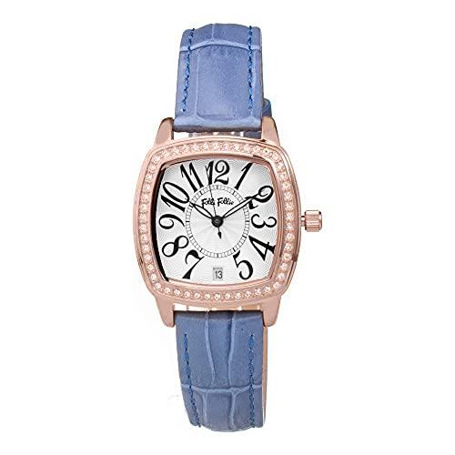 Folli Follie Reloj Análogico-Digital para Mujer de Automático con Correa en Acero Inoxidable S0356953