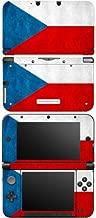 Nintendo 3DS XL Decal Skin Sticker - Flag of Czech Republic