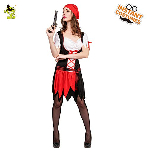 - Frauen Plus Size Pirate Kostüme