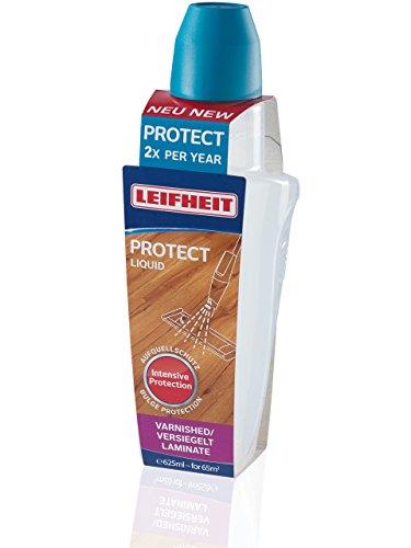 Leifheit Pflegemittel Proctect für versiegeltes Laminat und Parkett, für die Pflege von empfindlichen Holzböden, Spezialpflege 625ml, empfohlen für die halbjährliche Anwendung