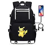 Teenager College Schule Pikachu Serie Casual Daypack, passt 15