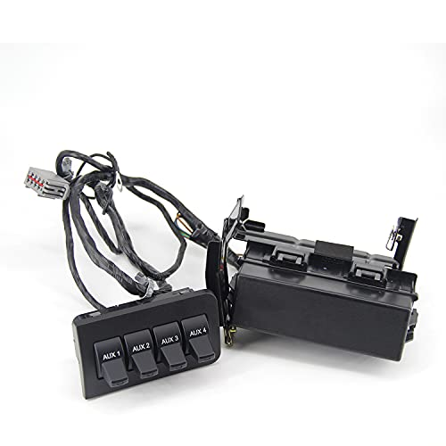 Dash Auxiliary Upfitter Switch Replaces for Ford F150 2010-2014, F250 F350 F450...