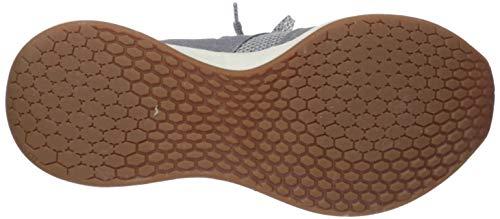 New Balance Women's Fresh Foam Roav V1 Sneaker, GUNMETAL/LIGHT ALUMINUM, 9 M US 4