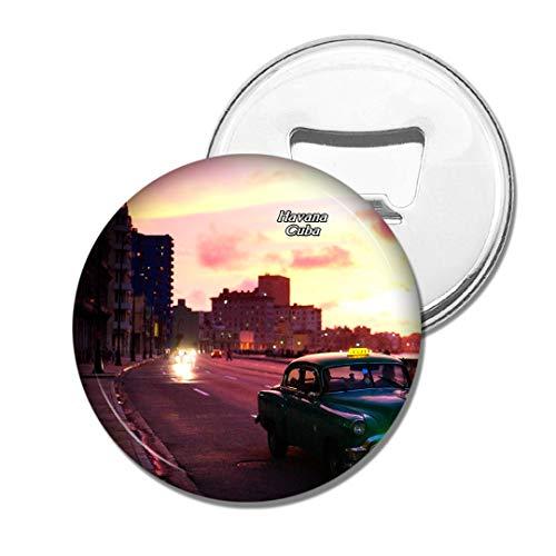 Weekino Malecon Havanna Kuba Bier Flaschenöffner Kühlschrank Magnet Metall Souvenir Reise Gift