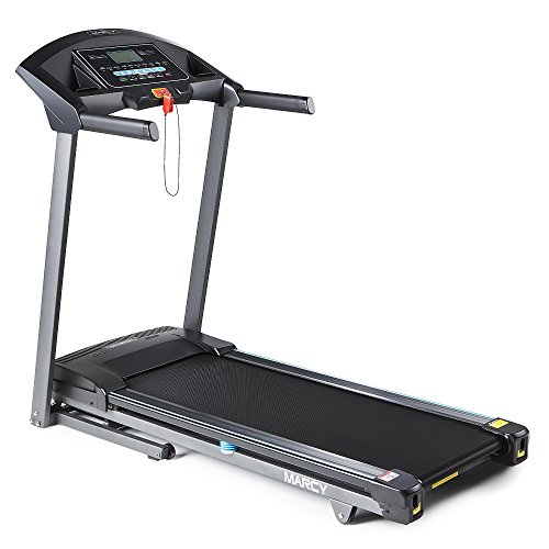 Marcy Folding Motorized Treadmill/Electric Running Machine - Easy Assembly JX-650W