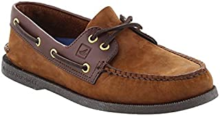 SPERRY Men's, Authentic Original Boat Shoe Brown Suede 9.5 M