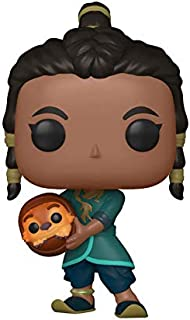 Funko Pop! Disney: Raya and The Last Dragon – Raya and Baby Tuk Tuk Vinyl Figure, Amazon Exclusive