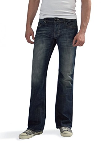 LTB Jeans Herren Boot-Cut Jeanshose Tinman, Gr. W40/L30 (Herstellergröße: 40), Blau (2 Years Wash)