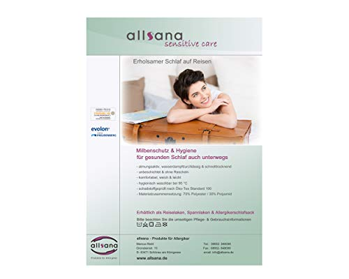 allsana allsaneo Premium Allergiker 100x220 cm Bild