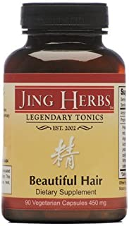 Jing Herbs Beautiful Hair 90 Capsules