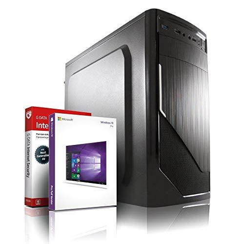 Entry Gaming/Multimedia/Office 10-Kern (4C+6G) Computer mit 3 Jahren Garantie! | AMD A10 9700 Quad, 3.8 GHz | 16GB DDR4 | 6Kern Grafik Radeon R7 DX12 4GB | 256GB SSD + 1TB | WLAN |DVD±RW|Win10#6516