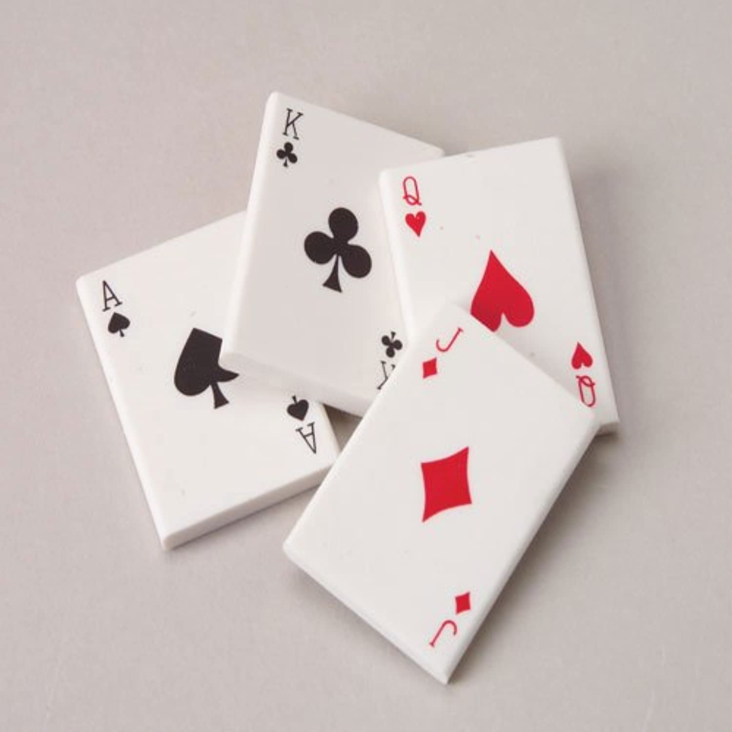 US Toy Company LM159 Mini Playing Card Erasers36Bx