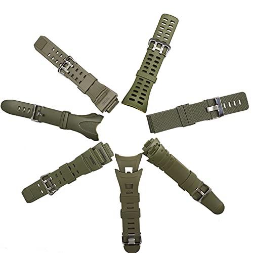 PZZZHF Skmei Plástico Reloj de Goma Correa para 1029 1025 1068 1416 1019 Correa para Diferentes Modelos de Skmei Band Men/Mujeres Relojes Reloj (Band Color : 1267 Strap)
