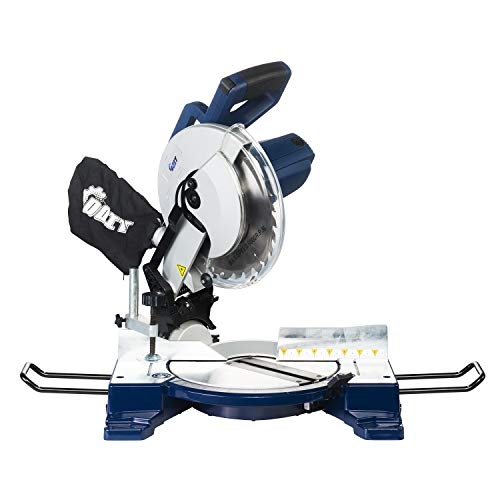 DOIT 15-Amp 10-Inch Single-Bevel Compound Miter Saw with Laser Guide