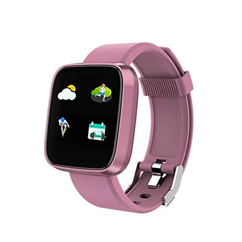 XQTEI IP67 reloj inteligente a prueba de agua pantalla 2.5D batería grande recordatorio inteligente recordatorio sedentario reloj de monitoreo de frecuencia cardíaca de presión arterial