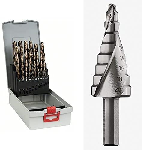 Bosch Professional Brocas para martillos perforadores SDS-plus-5, 7 x 100 x 165 mm, pack de 1, Acero Inoxidable, 7 x 100 x 115 mm + Tubo de Grasa lubricante para Taladro Plus y SDS MAX (100 ml)