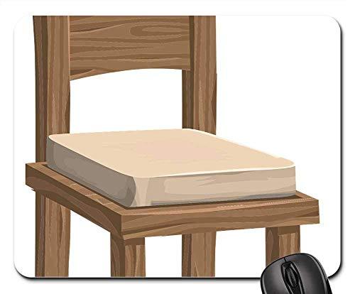 Mauspad - Holzstühle Möbel Braun Bequeme Sitze