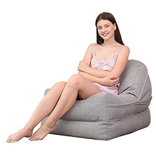 Renovierung Haus Stühle Lounge Chair Mittags Artefakt Lazy Couch Einfach Tragbar Klappbar Büro Nickerchen Kreative Einzelliege 6 Farbe Optional 170 * 63 * 15 + 20 cm Langlebig (Farbe: Gentleman Grey)
