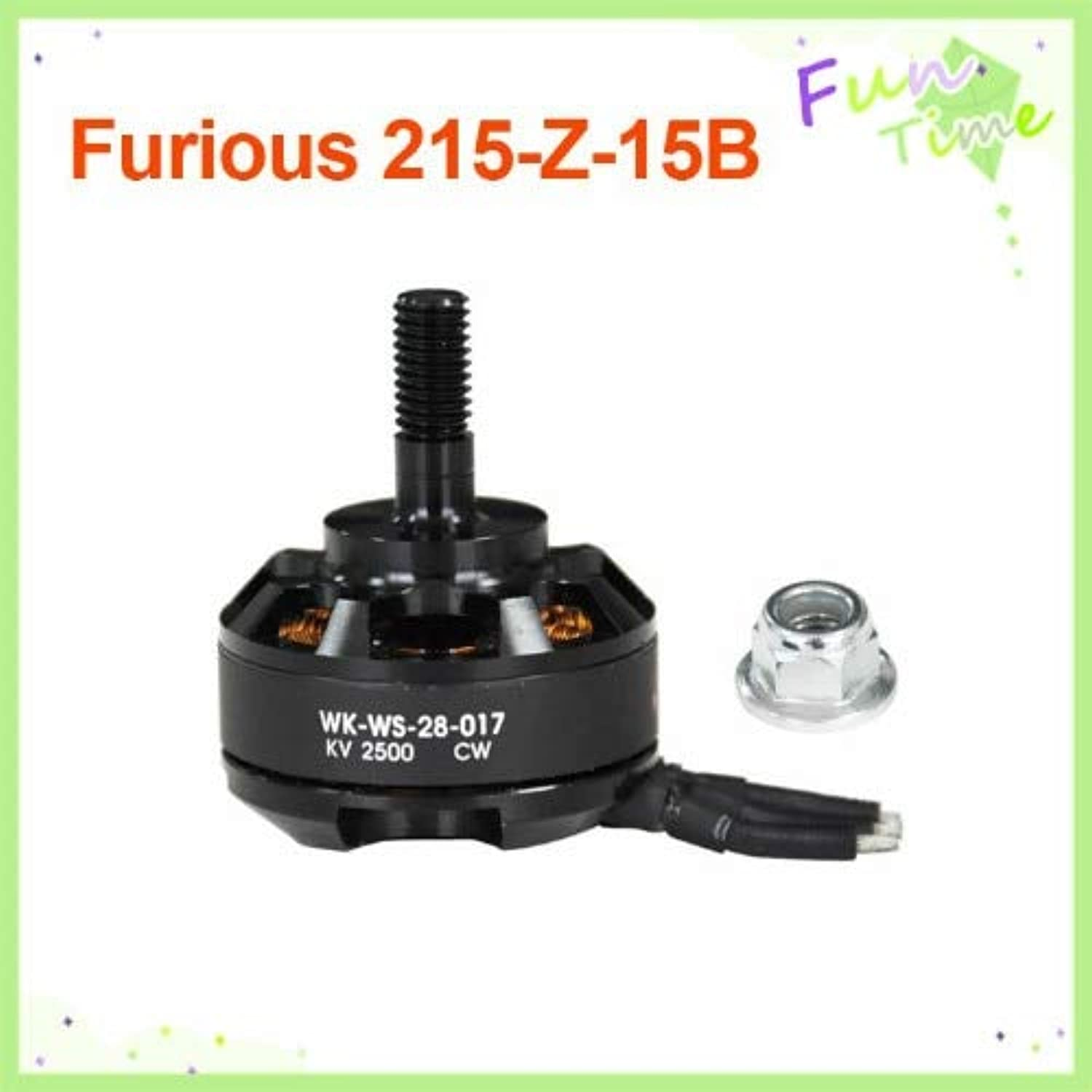Generic Walkera Furious 215 Parts Brushless Motor (WKWS28017) Furious 215Z15 Furious 215 F215 Spare Parts Track Ship