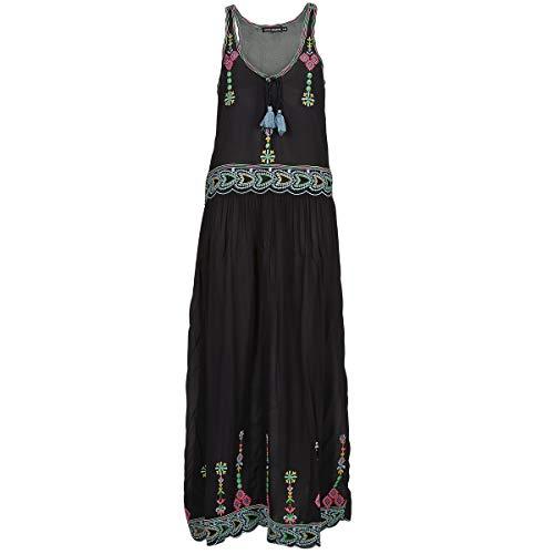 Antik Batik SANAH Kleider Damen Schwarz - DE 34 / XS (EU 36 / XS) - Maxikleider