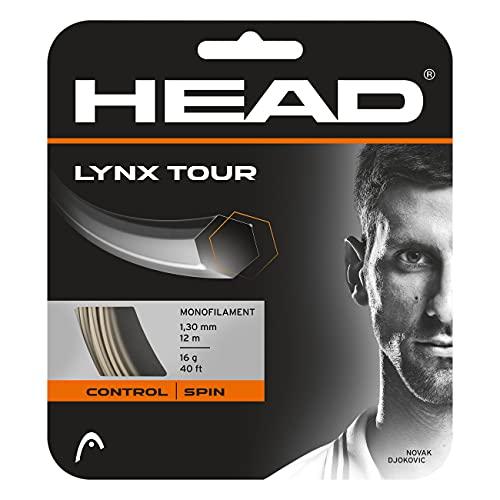 HEAD Lynx Tour, Racchetta da Tennis Unisex Adulto, Champagne, 17