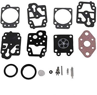 sourcing map K20-WYJ Carburatore Ricostruzione Kit Gommino Diaframma per Walbro K10-WYB K20-WYJ D20-WYJ Echo Homelite Motori Carb 3pz